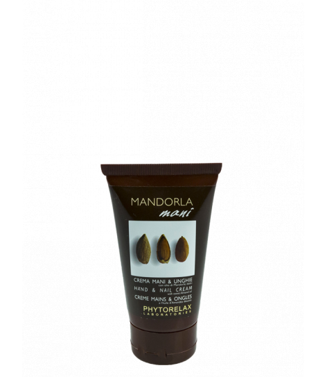 HAND & NAIL CREAM with sweet almond oil, 75ml