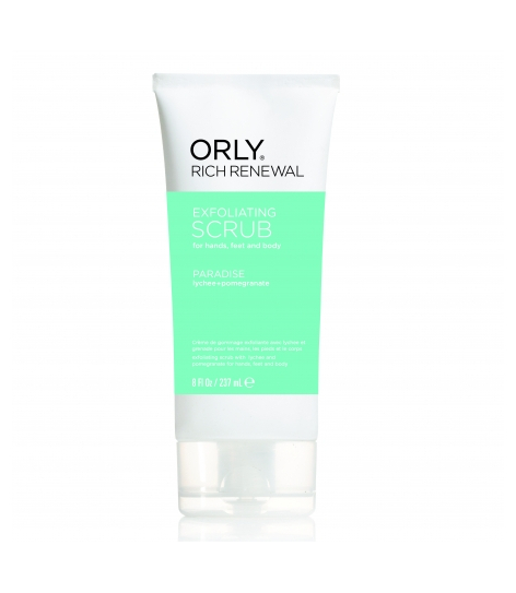 ORLY RICH RENEWAL PARADISE SCRUB, 237ML