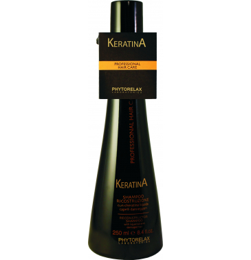 KERATIN RECONSTRUCTION SHAMPOO, 250ml