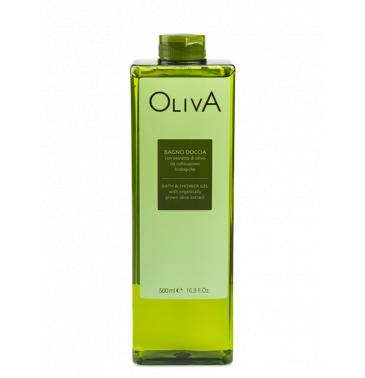 OLIVE BATH & SHOWER GEL, 500ml
