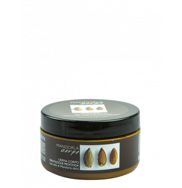 DEEP HYDRATING BODY CREAM with sweet almond oil, 300ml