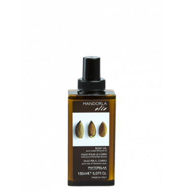 BODY OIL with sweet almond oil, 150ml
