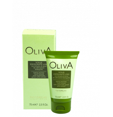 OLIVE EXFOLIATING FACE SCRUB, 75ml