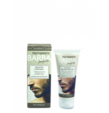 PERFECT BEARD TREATMENT PRE-AFTER SHAVE BALM, 75ml