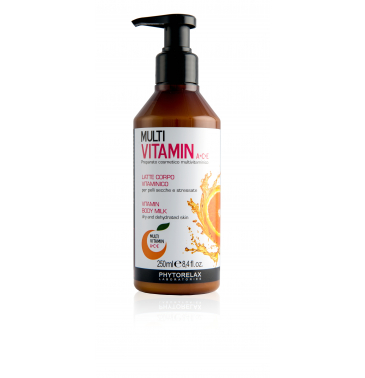VITAMIN BODY MILK, 250ml